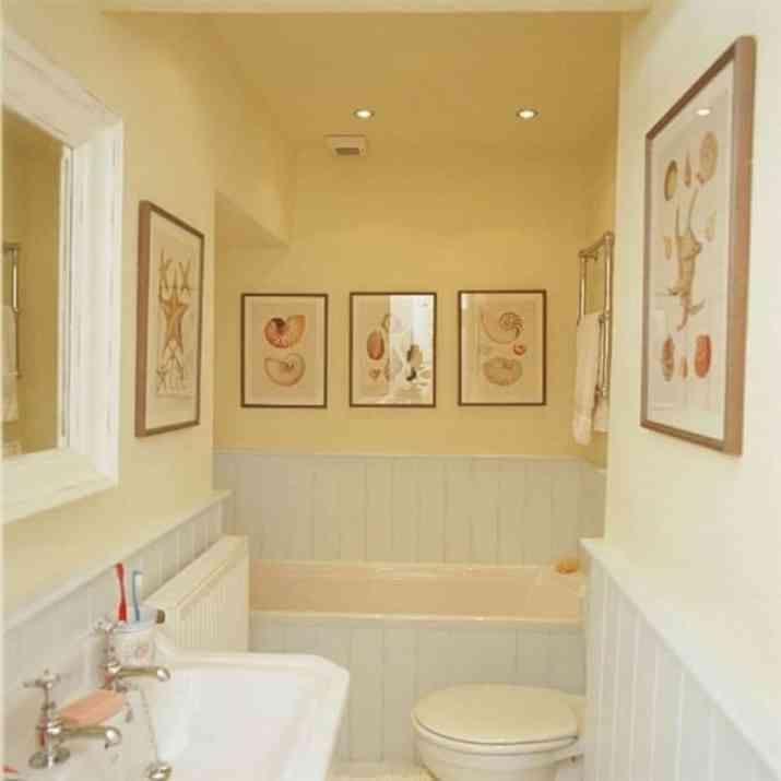 Casual Beadboard Bathroom