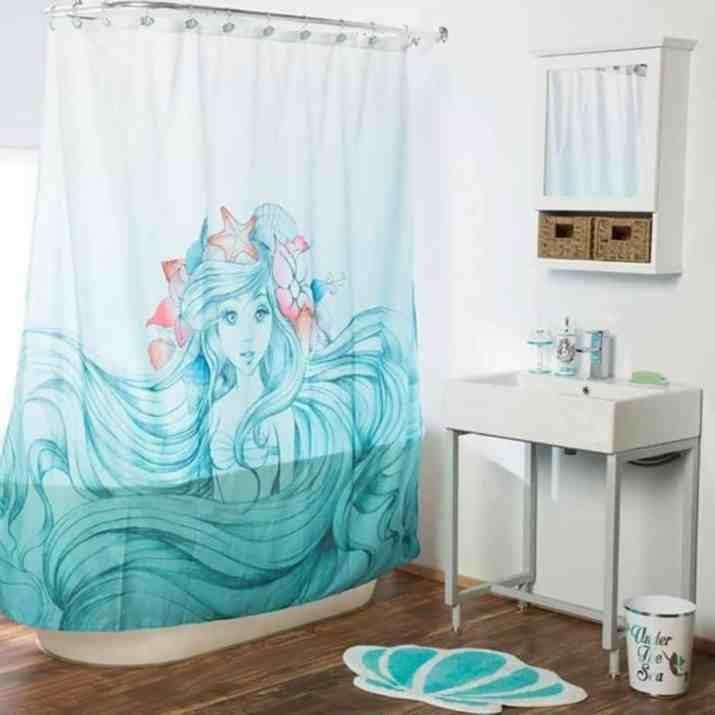 Sweet Mermaid Bathroom
