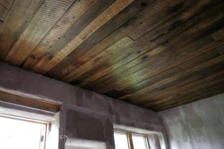 unique Basement Ceiling Ideas Wood