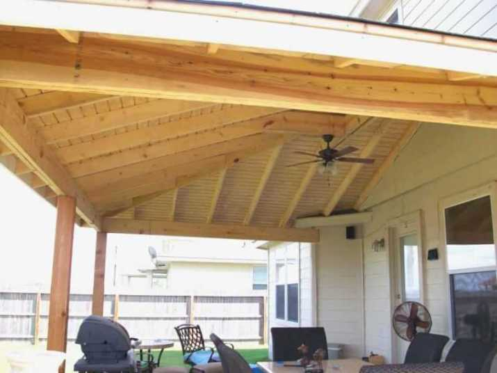 Wood Ceiling Ideas for Porch for outdoor