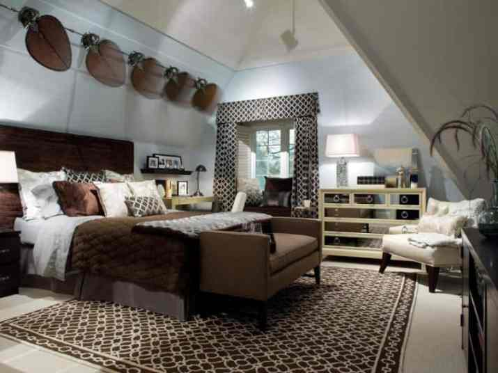 perfect combination of Vaulted Ceiling Bedroom Ideas