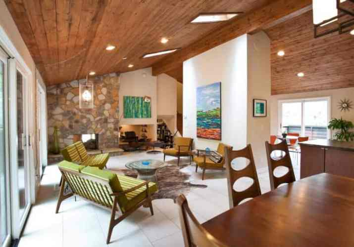 perfect Wood Ceiling Ideas for Living Room