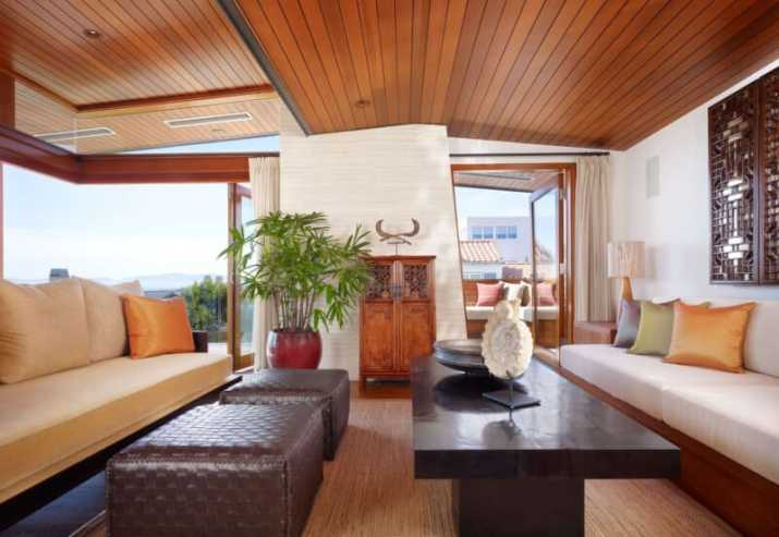 cozy Wood Ceiling Ideas for Living Room