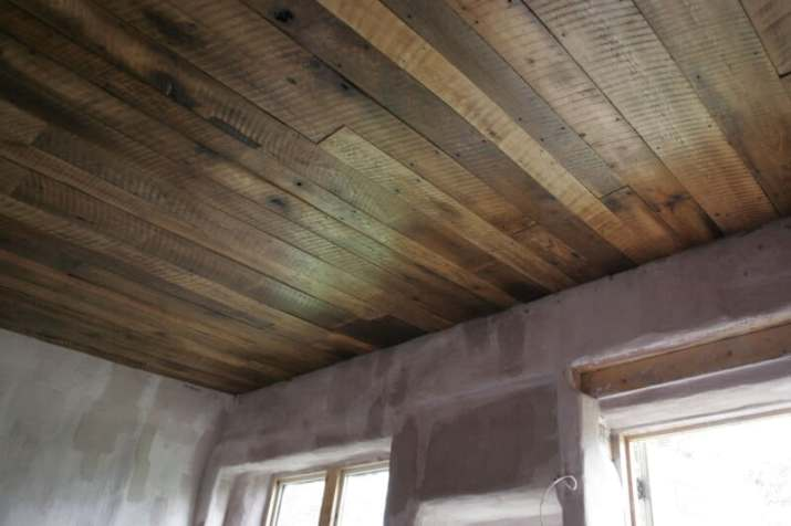 Barn Wood Ceiling Ideas with enough lighting