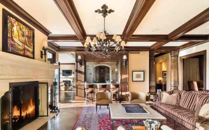 Rustic Wood Ceiling Paint Ideas with some furniture