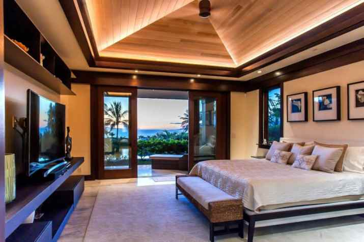 Wood Ceiling Ideas Bedroom with traditional look