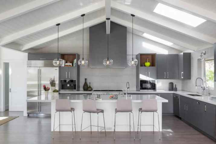 Vaulted Ceiling Kitchen Ideas with barrel