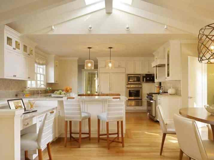 unique Vaulted Ceiling Kitchen Ideas