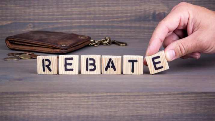 Check the Rebate Program