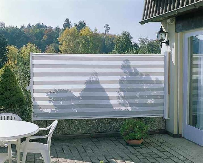 Retractable Privacy Screen