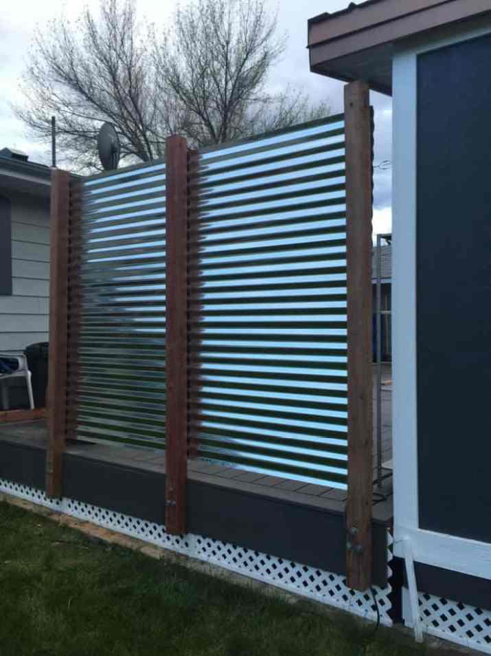 Simple Metal Fence