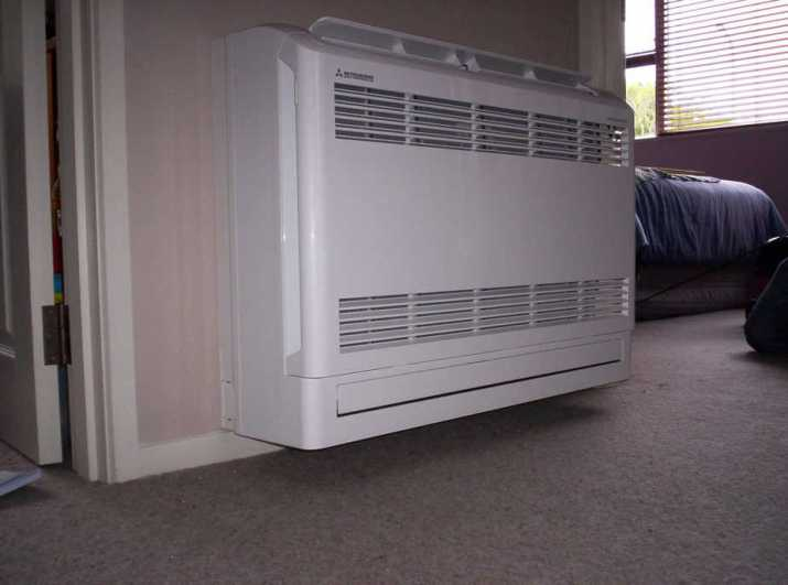 Floor mounted air conditioners
