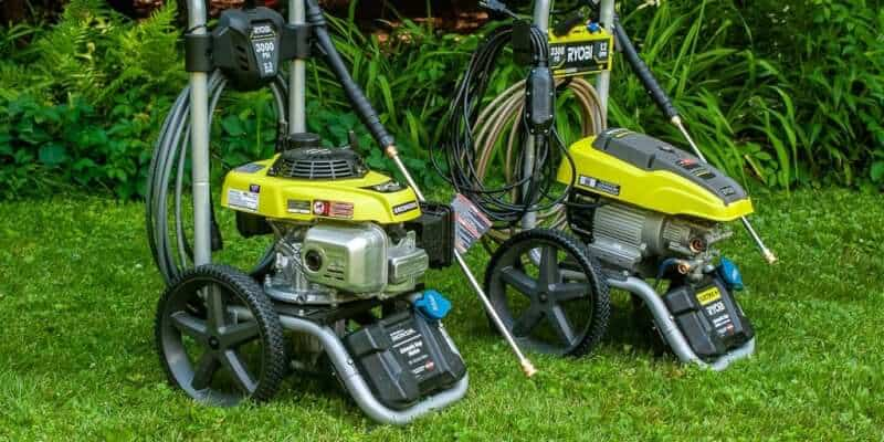 The Best Types of Pressure Washers