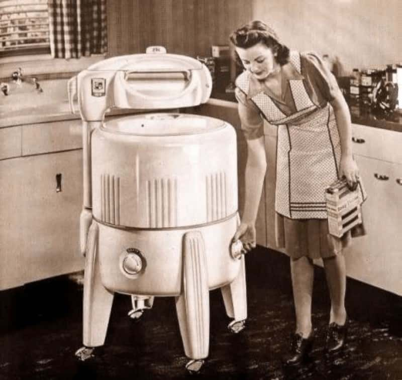 Washing Machine History and Developments Made of All Time