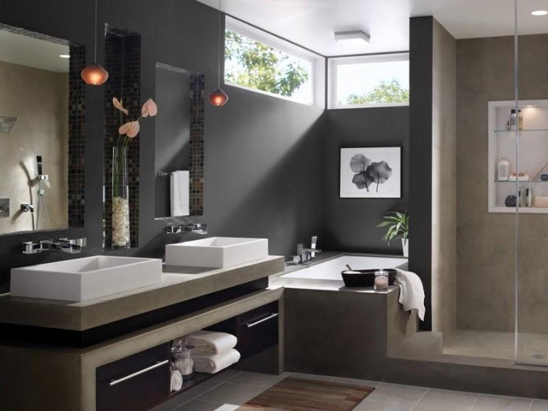 45 Grey Bathroom Ideas 2021 (with Sophisticated Designs)