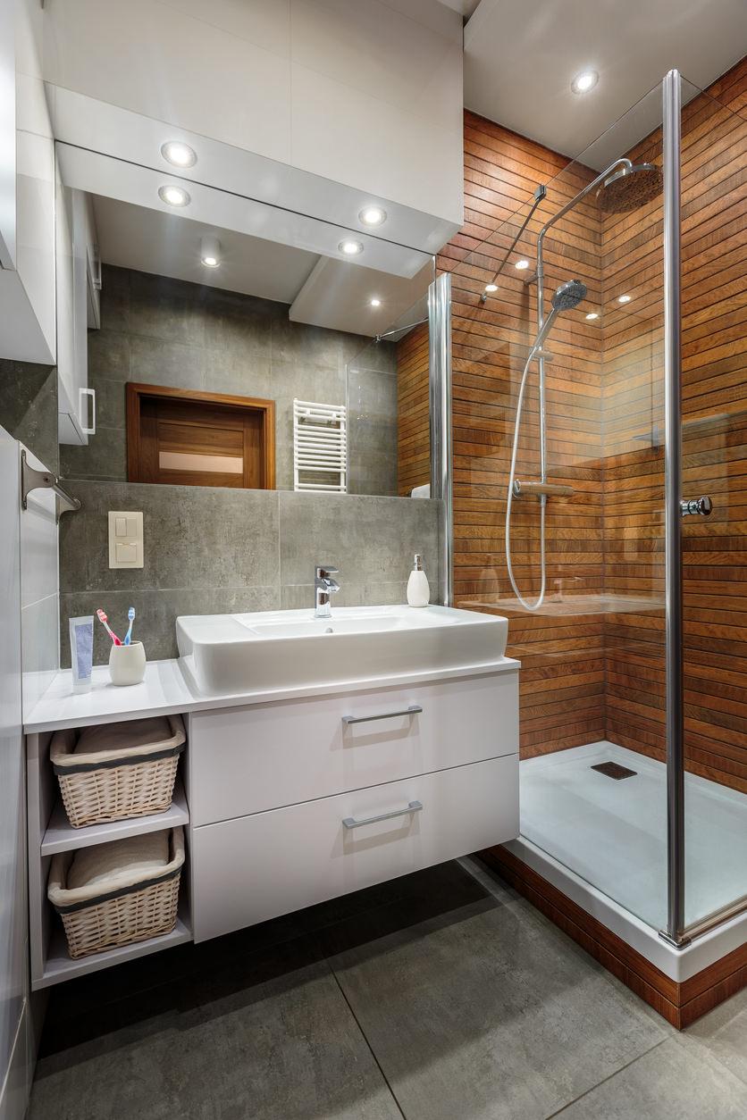 45 Master Bathroom Ideas 2019 (That Will Awe You) - Home ... on Small Bathroom Remodel Ideas 2019  id=23128
