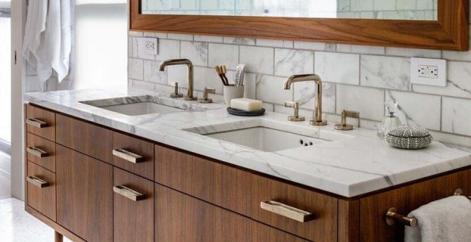 Midcentury Modern Bathroom Cabinet Ideas