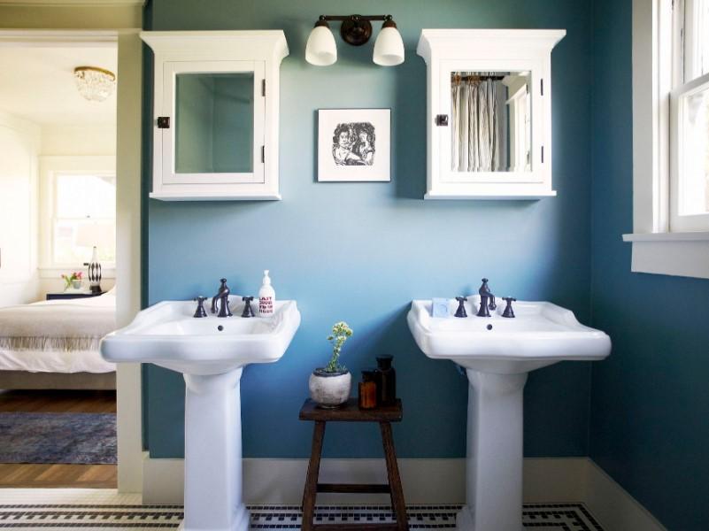 45 Blue Bathroom Ideas 2020 Various Refreshing Designs Avantela Home