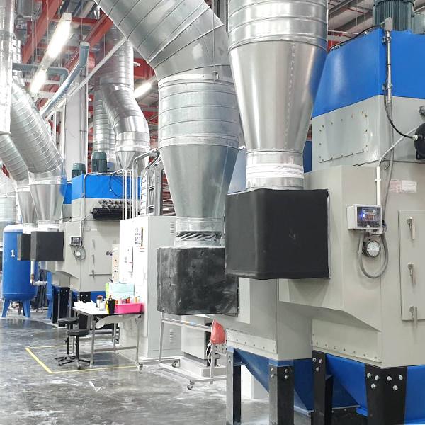 LECREUSET FACTORY ออกแบบและติดตั้งระบบกรองฝุ่น (Dust Collector System)