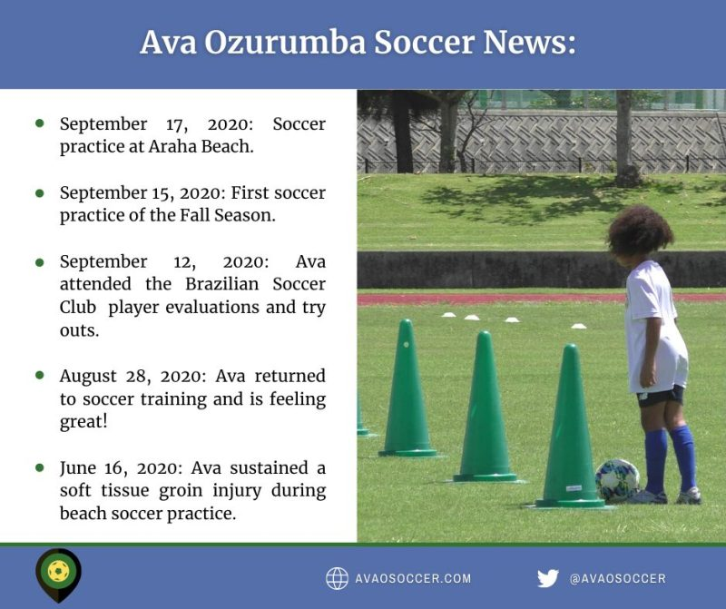 News - Ava O Soccer