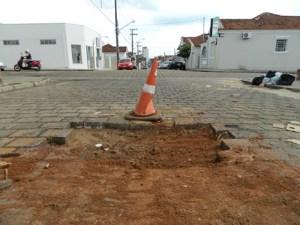 buraco cone rua
