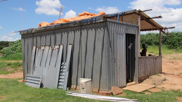construção abandonada