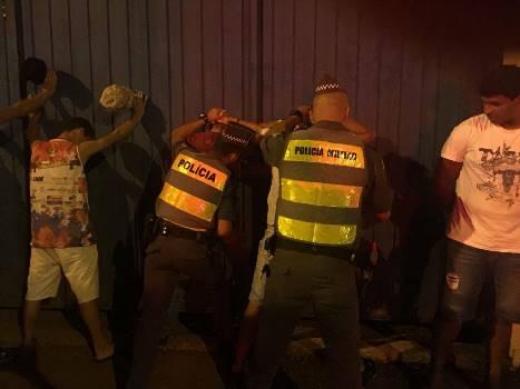 Polícia prende quatro durante Operação Carnaval