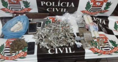 Polícia Civil cumpre 40 mandados de prisão e apreende mais de três quilos de drogas