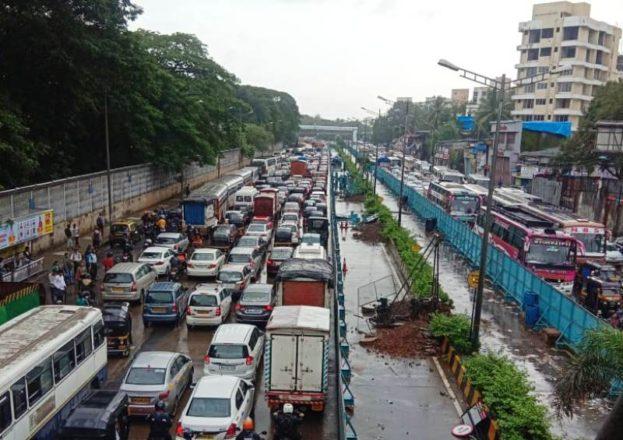 JVLR traffic problem