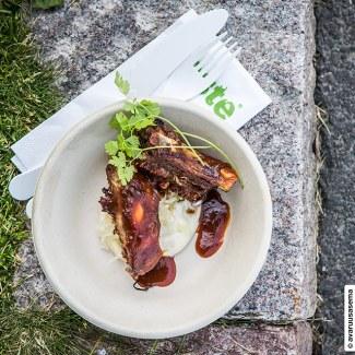 Taste of Helsinki 2015 - Emo - rypsipossun ribs, © avaruusasema.com