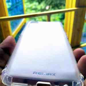 Realme 7 Sosh Back Cover - White Colour