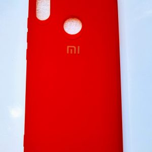 Xiaomi Redmi Note 7, Note 7 Pro, Note 7S Leather Mate Back Cover - Red Colour