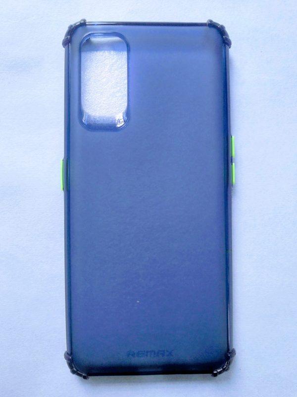 Realme 7 Pro Sosh Back Cover - Golden Blue Colour