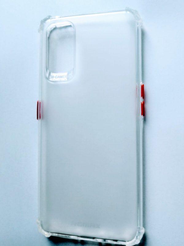 Realme 7 Pro Sosh Back Cover - White Colour