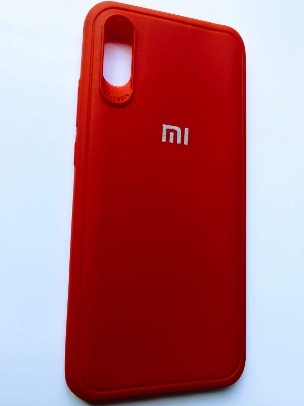 Premium High Quality Back Cover for Mi Redmi 9A, Mi Redmi 9i - Red Colour