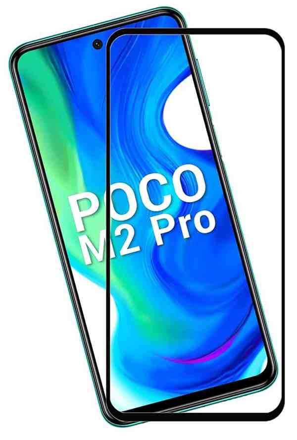 POCO M2 PRO / REDMI NOTE 9 / REDMI 10X Edge To Edge PREMIUM Tempered Glass