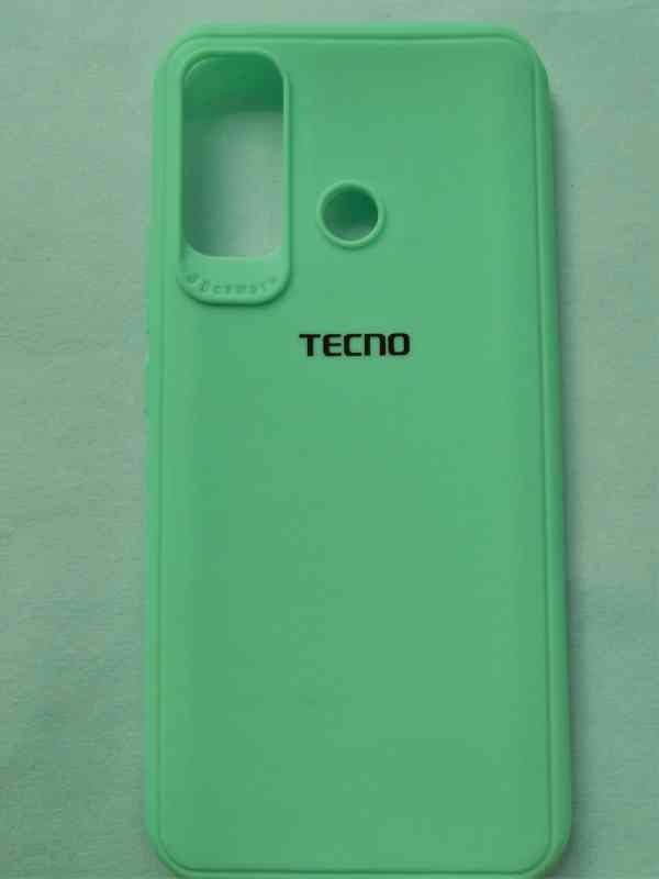 Premium High Quality Back Cover for Infinix Hot 9 - Green Colour