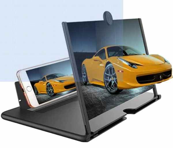 Mobile Phone 3D Video Amplifier Mobile Phone 3D Screen Magnifier Eyes Protection Enlarged Expander Support for All Smartphones Made In India