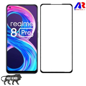 Realme 8 Pro Real Curved 2.5D Tempered Glass || Premium high quality Tempered Glass for Realme 8 Pro Gaming Edition