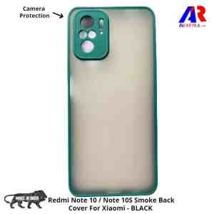 Redmi Note 10 / Note 10S Smoke Back Cover For Xiaomi (Green Colour)- Buy Redmi Note 10 / Note 10S Back Cover Smoke Cover and Cases Online India - Premium High Quality Smoke Back Cover by Avaryka.com
