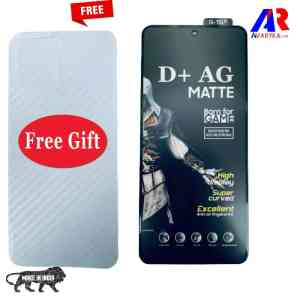 Redmi Note 10 Pro/Note 10 Pro Max Tempered Glass and Back Skin Combo Free For GAMERS