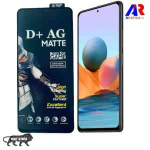 Redmi Note 10 Pro Note 10 Pro Max Matte Tempered Glass For GAMERS