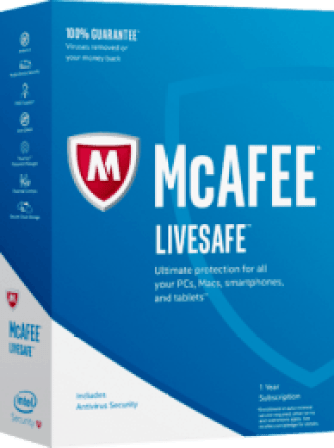 McAfee LiveSafe 2020 Crack + License Key Free Download