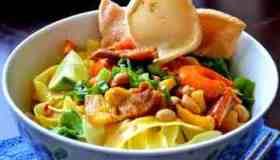 Mi Quang (Turmeric Noodles)