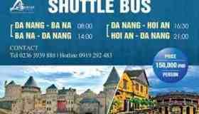 SHUTTLE BUS<br />Đà nẵng - Hội An - Bà Nà
