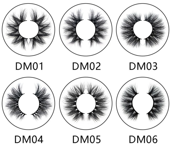20 mm 3D Mink Lashes 20 mm 3D Mink Lashes Wholesale