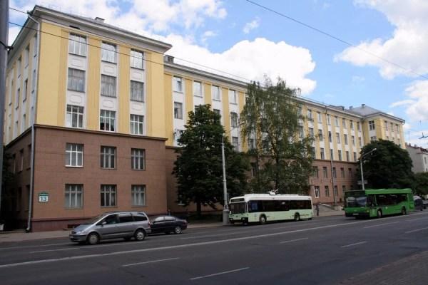 БГТУ, учебный корпус № 4, ВУЗ, ул. Свердлова, 13А — Яндекс ...