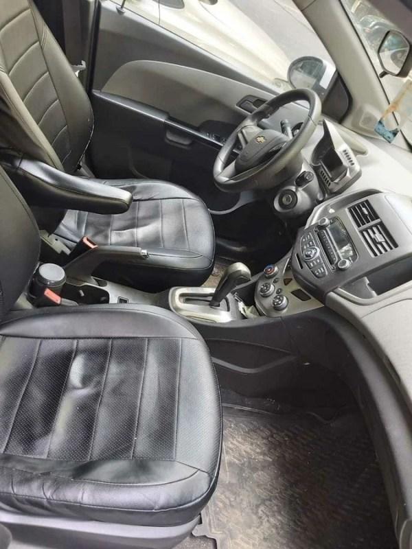 Купить б/у Chevrolet Aveo II 1.6 AT (115 л.с.) бензин ...