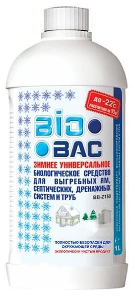BioBac Зимнее биологическое средство для выгребных ям ...