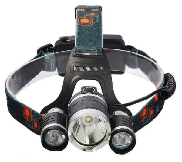 Купить Налобный фонарь Boruit HL-720 черный по низкой цене ...